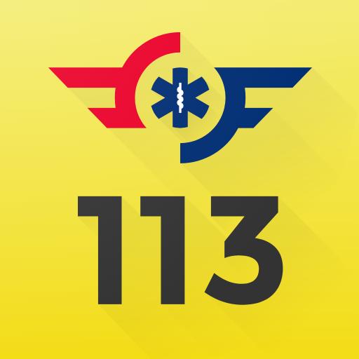 113 appen, førstehjelp