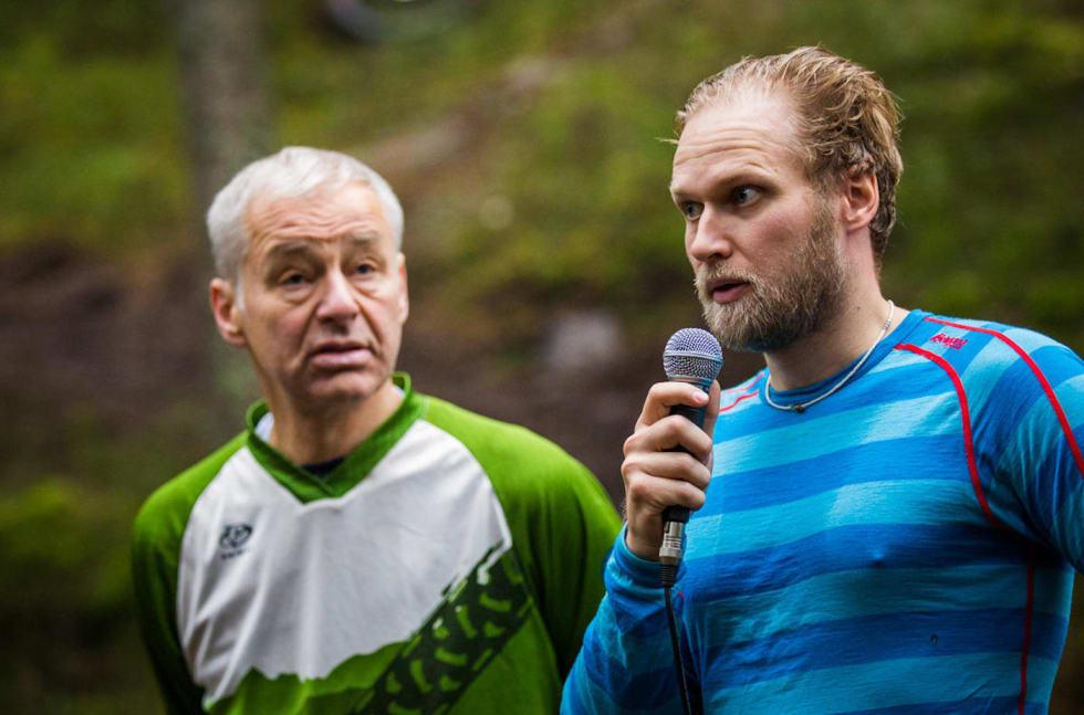 Øyvind Rørslett - Stian bergeland - Åpning Pioneren 2015 - Snorre Veggan 1400x924