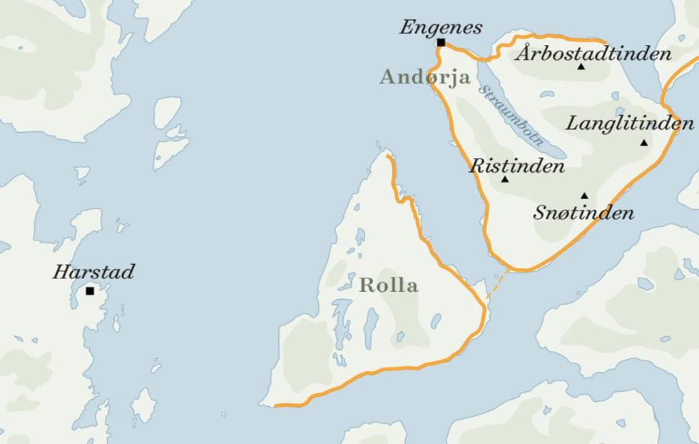 Andørja_kart