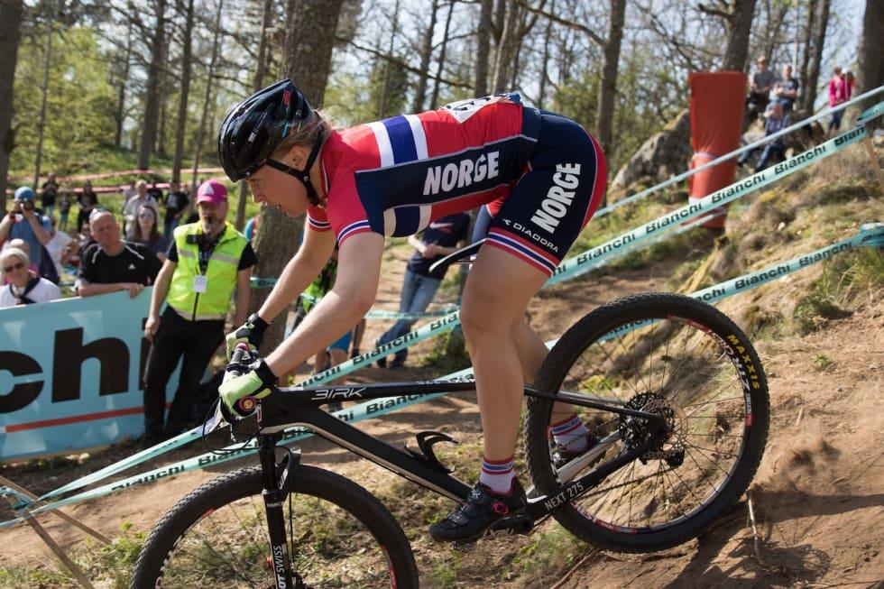 Ingrid Bøe Jacobsen EM sprint finale - Bengt Ove Sannes