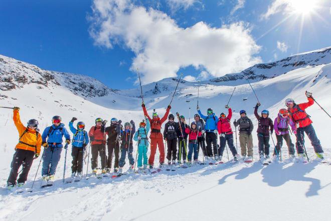 NORDNORSK: En godt fornøyd gjeng, etter en innholdsrik helg. Foto: Jan Arne Pettersen