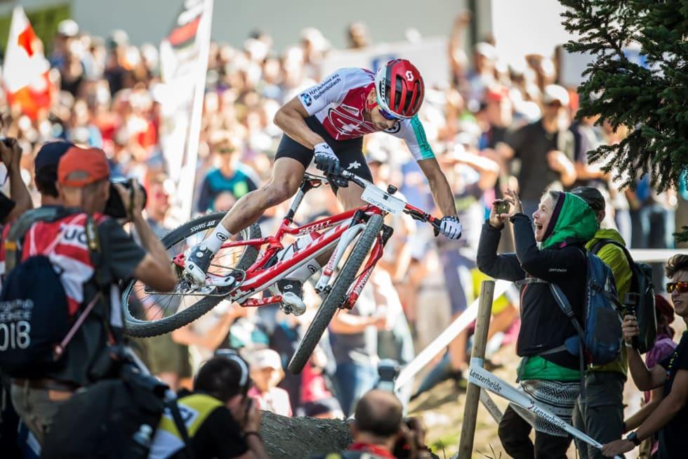 Fartsfokus: Rittfulldemperen gir deg både grep, fremkommelighet og komfort. Foto: UCI
