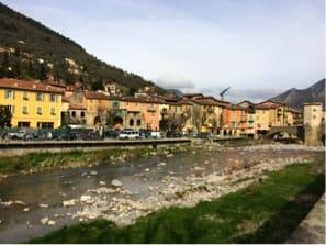 IDYLL: Sospel ligger ikke langt fra Rivieraen, men er likevel en liten fjell-idyll.