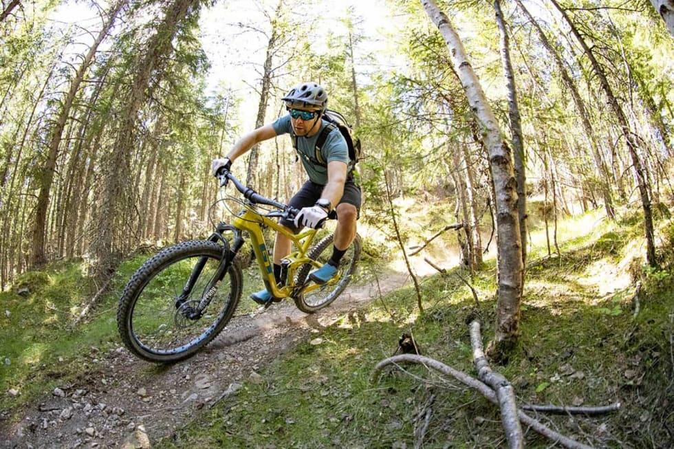 Allsidig: Stisykkelen gir både komfort og moro i løypene. Foto: GT