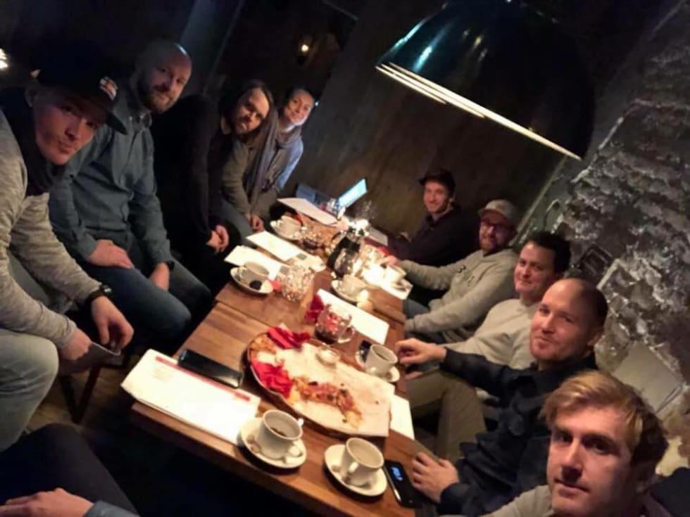 Fra venstre Mats kvaalen - Sondre Solgård - Svenn Fjeldheim - Silje Holmsen - Alexander Hauger - Stian Eilifsen - Torjus winther - Are Pedersen - Morgan bakken Foto Mats nyegaard 1000x750
