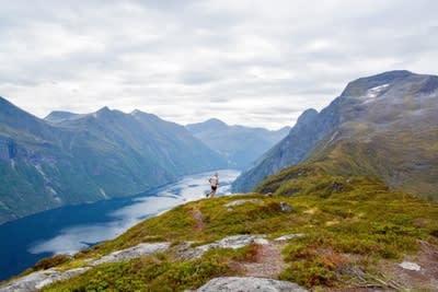 Stranda Fjord Trail Race arrangeres for første gang i år.