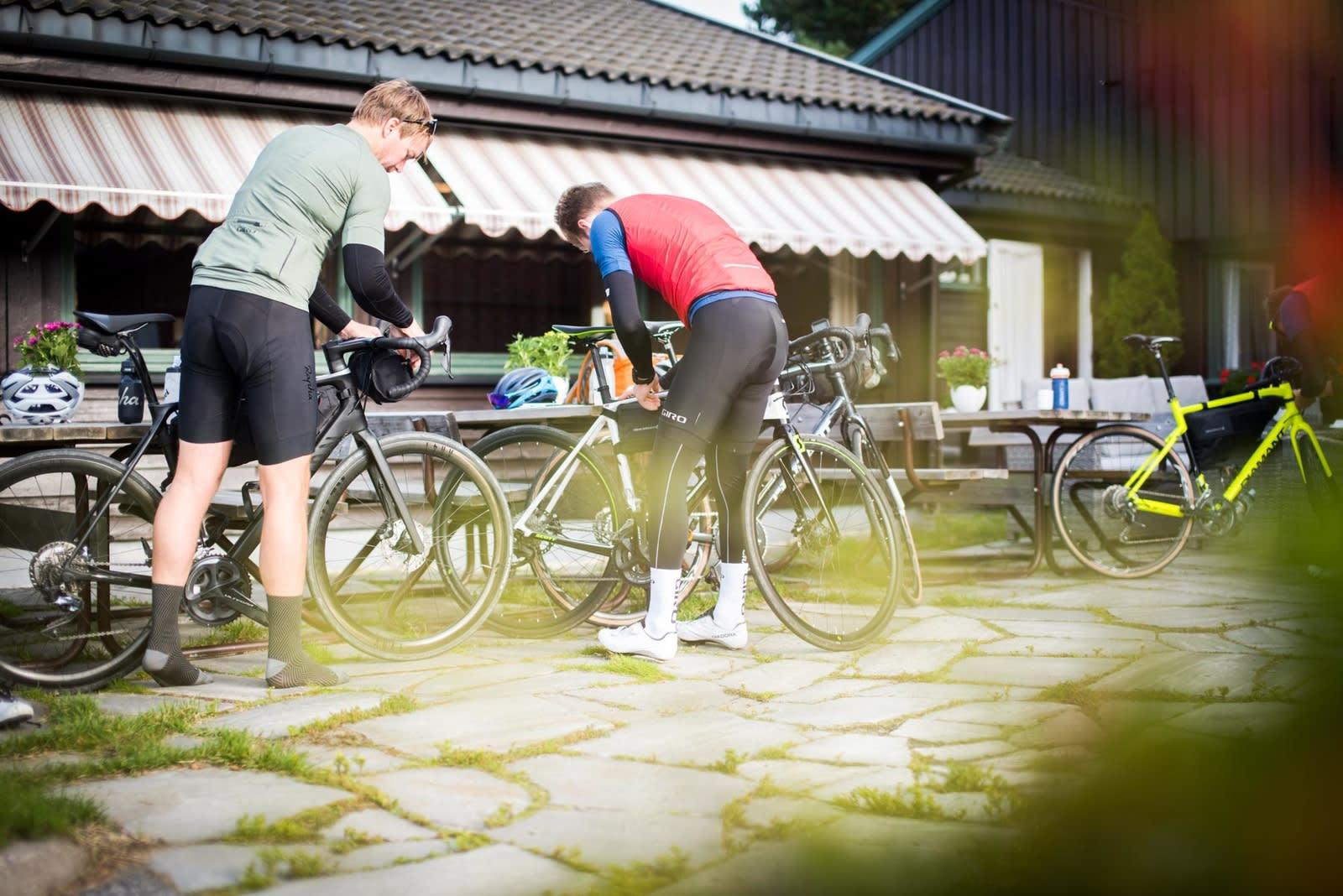HOTELLET: De 298 kilometerne blir delt opp i to med overnatting på Lygnasæter Hotell. Bilde: Henrik Alpers