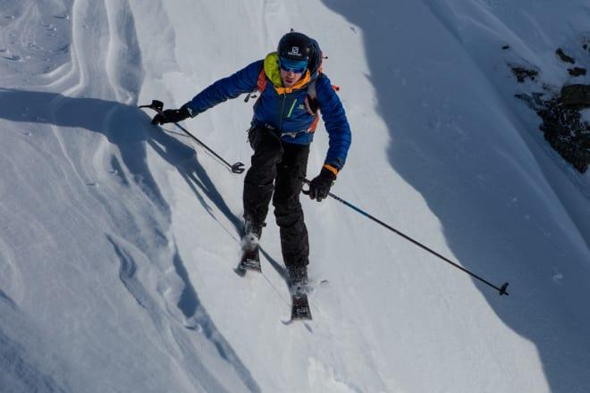 PROFESJONELL FJELLGEIT: Kilian Jornet har vunnet alt som kan vinnes av terrengløp og konkurranser i skialpinisme. Nå trapper han ned på konkurreringa for å være mer i fjellet. Bilde: Matti Bernitz