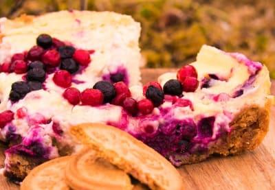 KAKE PÅ PRIMUS: Kake til turen kan like godt lagast ute. Foto: Sigrid Henjum