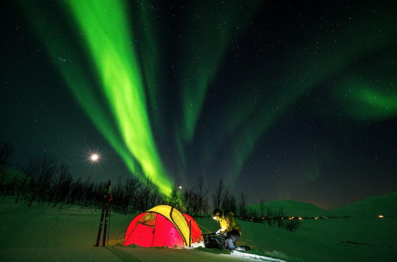 Vinter i Indre Troms gir utrolige opplevelser.