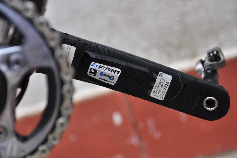 EFFEKTMÅLING: Henrik bruker watt-måling i treningsarbeidet og har en X9-arm med Stages-måler på terrengsykkelen.