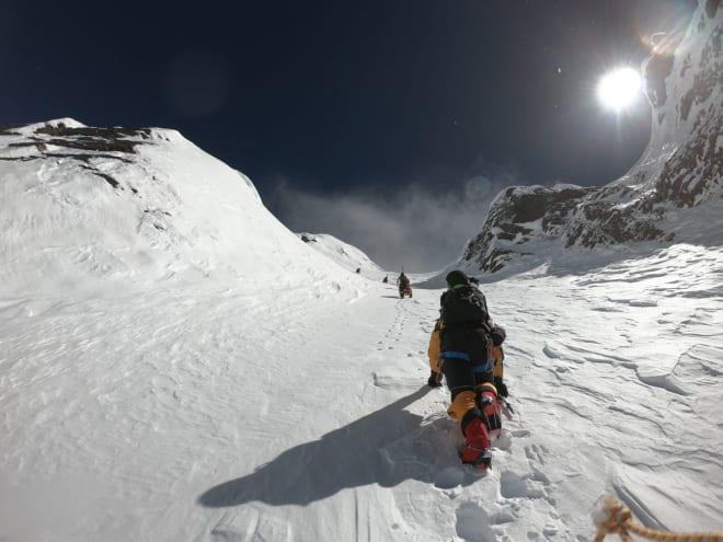 OPP: Utfordringene står i kø for den som skal kjøre renna på Lhotse. Stor høyde er en av dem. Foto: Jim Morrison