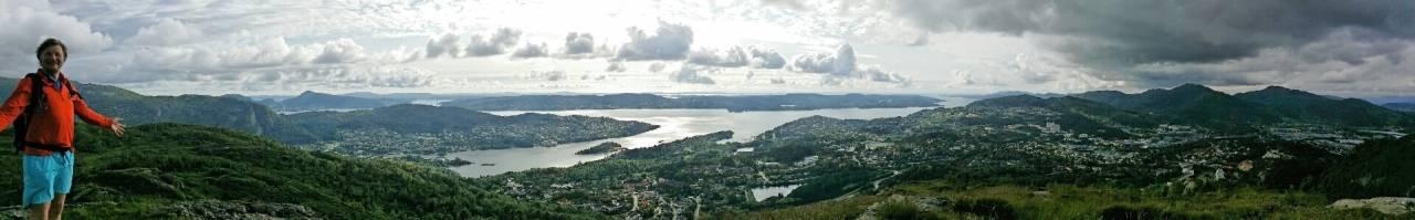 Utsikt fra Storesåta.