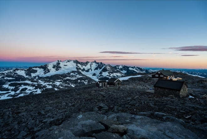 ET HØYDEPUNKT: Fanaråki en nydelig junikveld. Foto: Bård Basberg