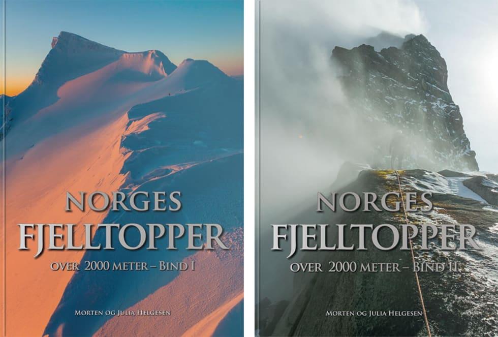 KOMMER NÅ: Bladet du nå leser og disse bøkene gikk i trykken så å si samtidig. Faksimile.