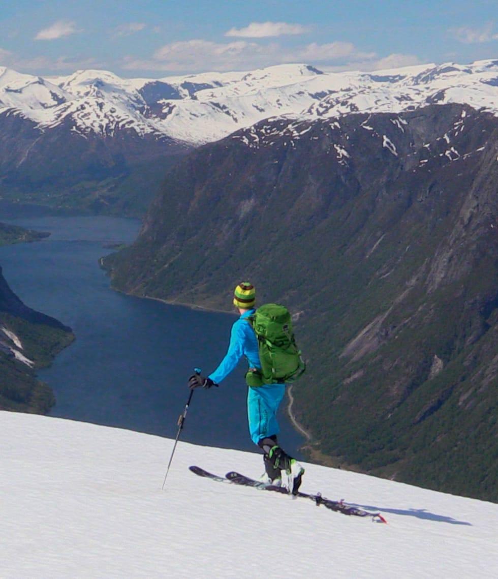 Foto: Olav Sægrov. / Toppturar i Sunnfjord.