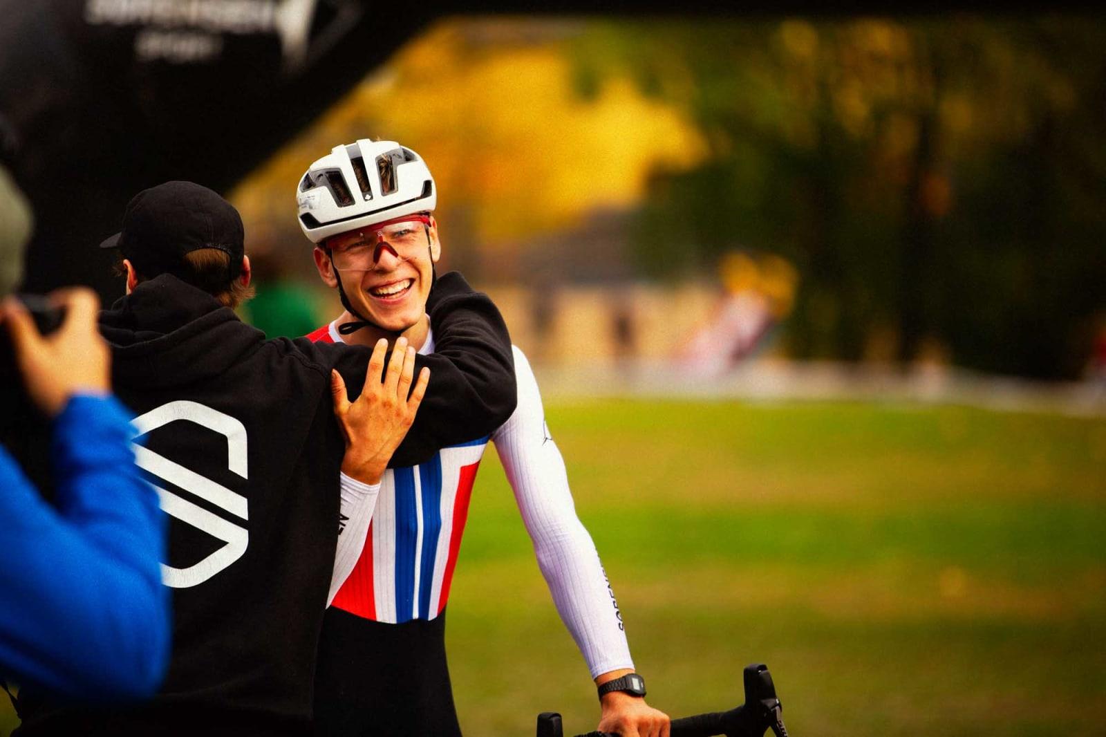 Det var veldig deilig da rittet var over, og jeg var lettet over at jeg greide å ta seieren, for jeg syklet helt på limiten hele veien.