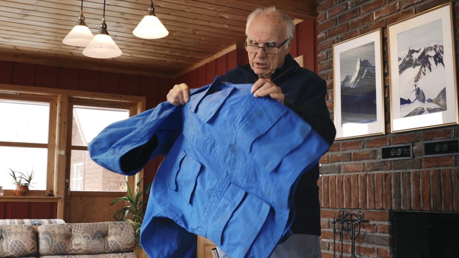 Tomas Carlström var med på å utvikle den første Gore-Tex jakka i 1977. Foto: Norrøna