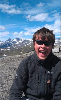 Hallgrim Rogn er glad for tur. Foto: Privat