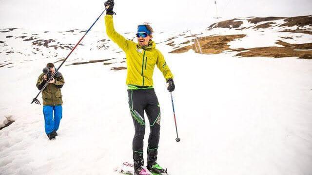 REKORDHOLDER: Lars Erik Skjervheim gikk over 20 000 høydemeter på ett døgn. Foto: Haakon Lundqvist