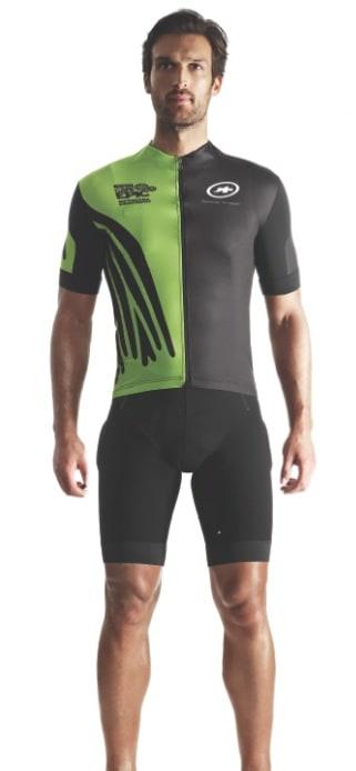SPONSORTRØYE: Assos' Cape Epic-trøye er flott, men linken til Cape Epic vil kanskje være litt snodig for de som ikke har deltatt der selv?