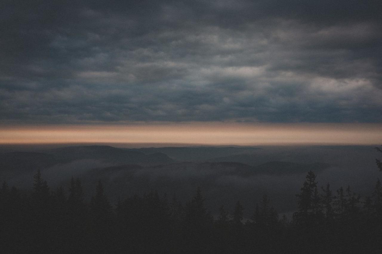 KLUT: Hvis skyene vrenger seg slik, er det neppe et godt tegn.