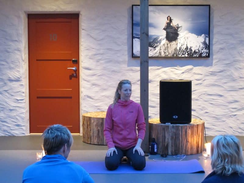 karine yoga