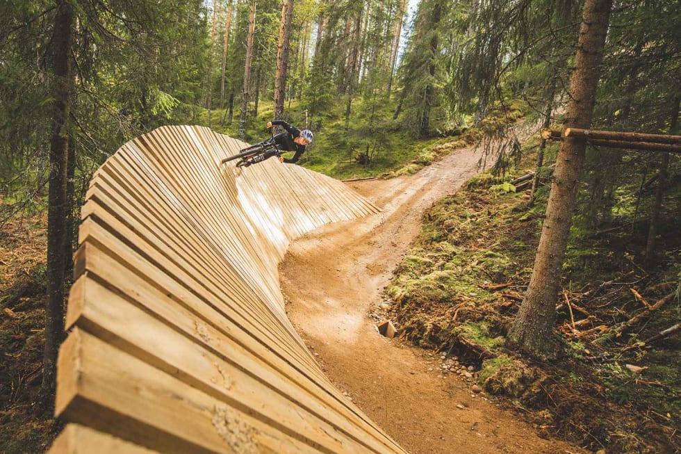 ANLEGG: Trysil har ledet an utviklingen som sykkeldestinasjon i Norge. Foto: Fredrik Otterstad.