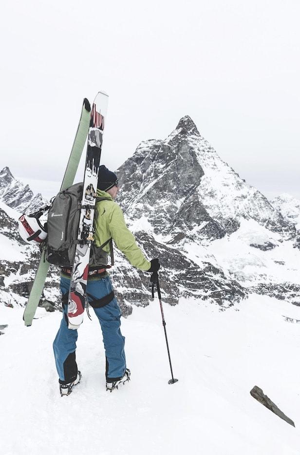 UTSIKT: Cervinia har definitivt sin del med utsikt. Selv om Matterhorn ser bedre ut fra den sveitsiske siden.