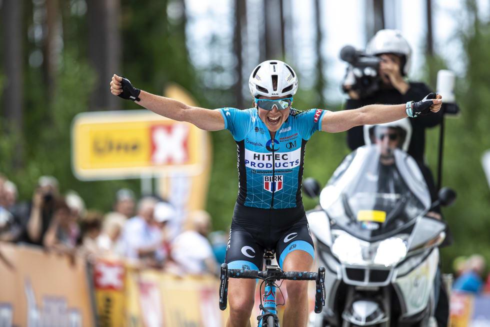 ENDELIG: Ingrid Lorvik har vært nær NM-gull i mange år. Endelig gikk det i boks. Foto: Pål Westgaard