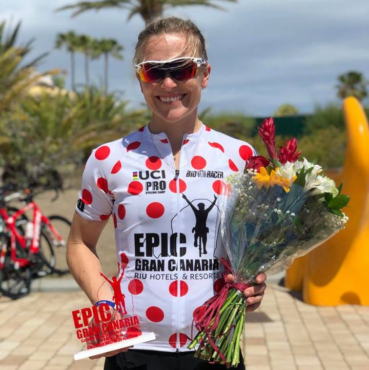KLASSEVINNER: Heidi Sandstø var beste rytter i K35 på den tredje etappen.