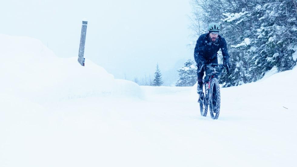 FELTTEST: Paul Errington, skjeggete brite på norgesbesøk. Foto: Marcel Battle.