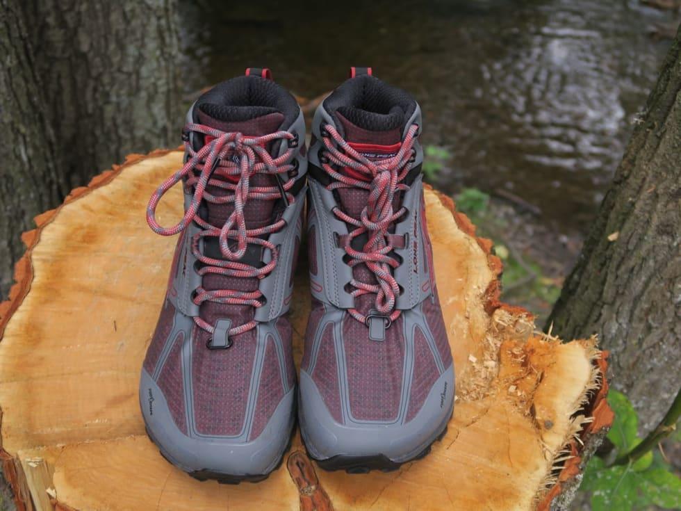 HELT TETT: Altra bruker eVent-membran i sine Lone Peak-sko. Den holdt vannet ute i vår vanntest.