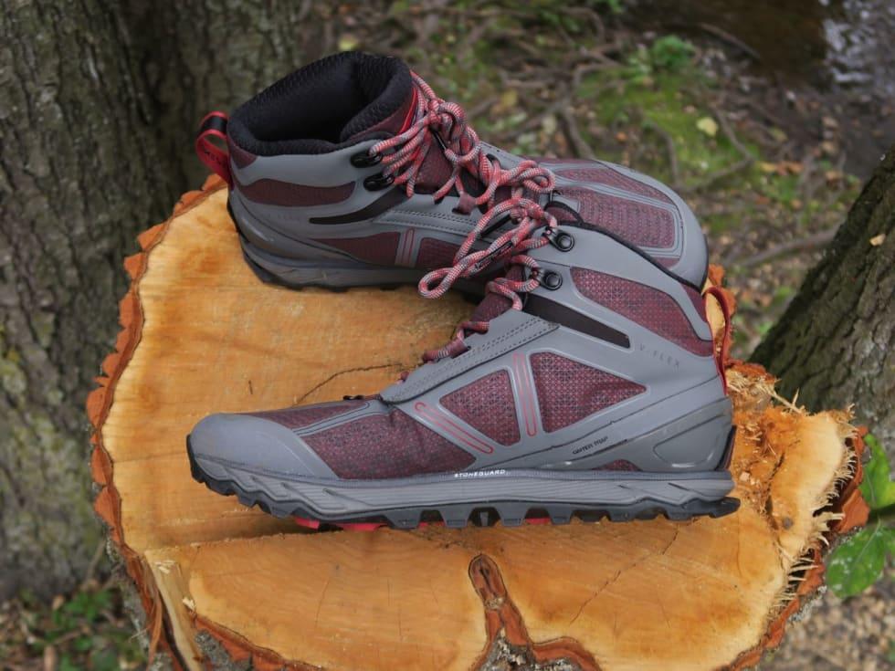 FLAT: Altra sine såler er like høye under hælen som under tåballen. Dette krever en viss tilvenning for leggmuskulaturen.