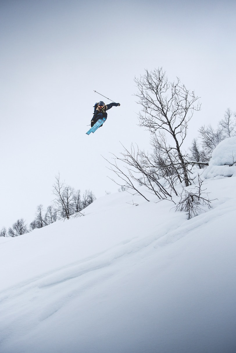 FOTO VS FILM: Naess har aldri fått til det segmentet han har tenkt på, men opp gjennom årene har han jobbet tett med flere av landets beste skifotografer.