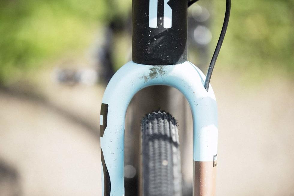 MASSE PLASS: De dyrere Ruut-syklene med karbonramme kommer med 34 mm dekk som standard. Du kan fint montere 40 mm dekk og fortsatt nyte lav racergeometri.