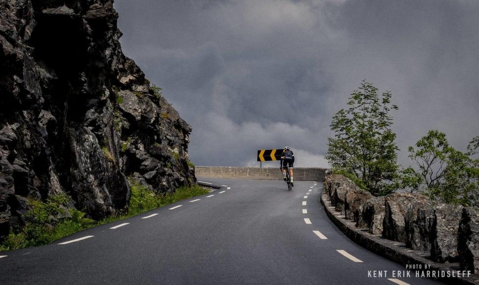 TROLSK: La oss en tur inn i det trolske Nordvest. Dette er undertegnede, Jonas Orset. Foto: Kent Erik Harridsleff