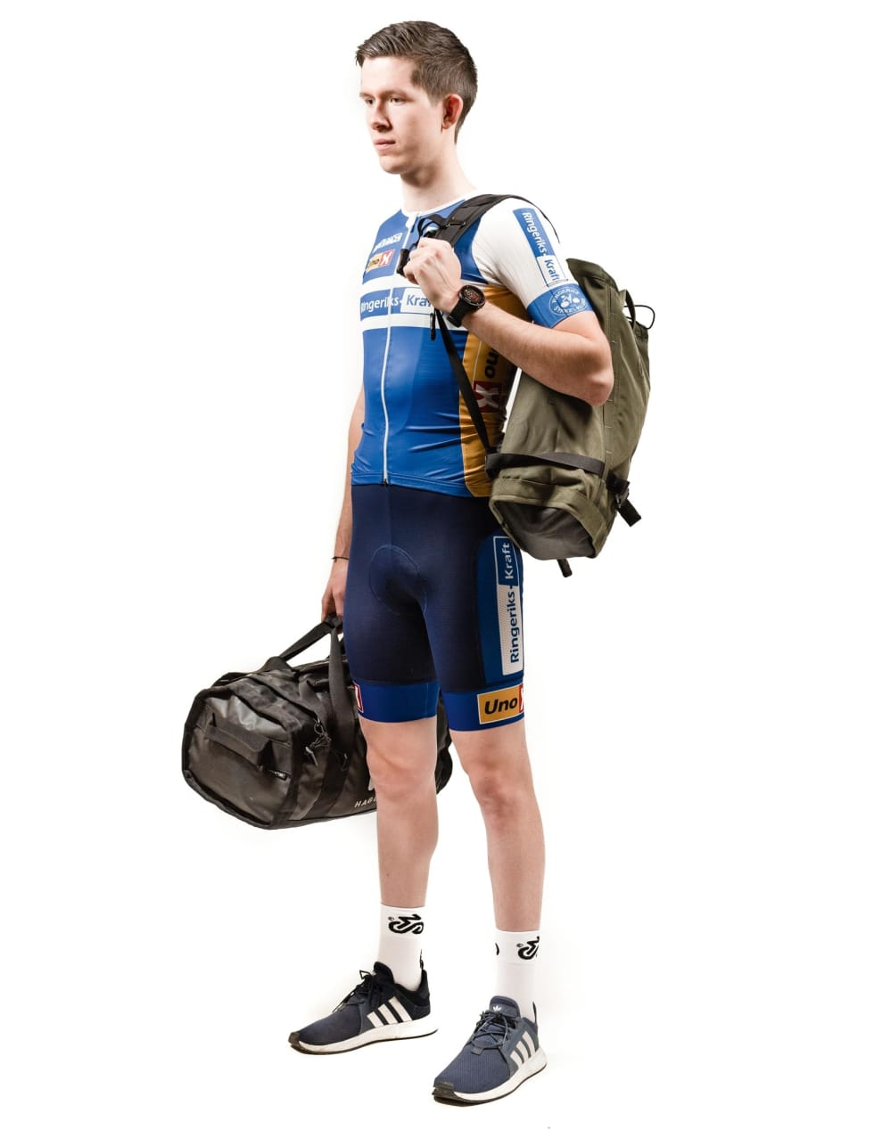 FØRSTE REISE - SISTE SJANSE: 2019 er siste året Daniel Ekløf kan kjøre i U23-klassen. Nå har han pakket tingene og for lengst reist til Italia.