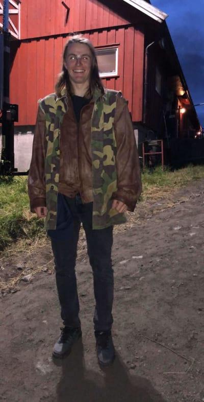 TRENING: Robert Ruud står på for å være klar til vinteren. Foto: Privat