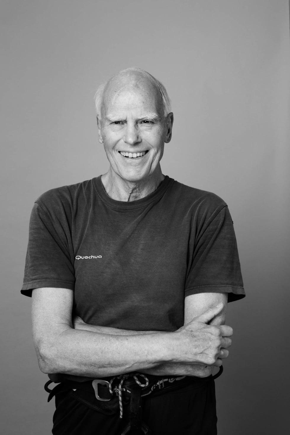 Ben Johnsen: Velkjent skikkelse i det norske klatremiljøet og leder av klatregruppa på Klatreverket.