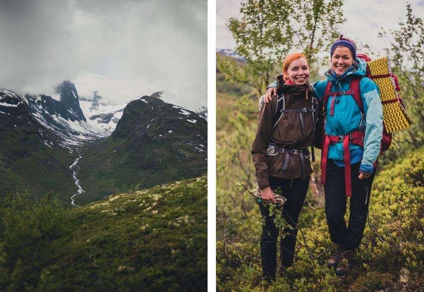 1. VIDARE INN: Midtmaradalen 2. JENTER: Ingeborg Fjeldstad og Marianne Lilleeng Walløe