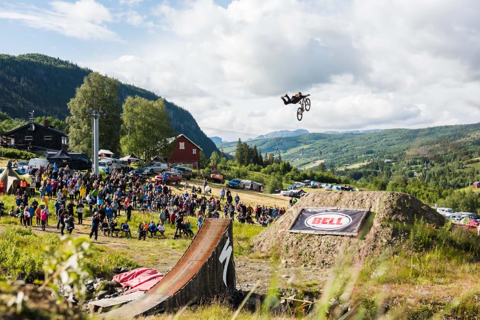 Fra show-delen av Hillbilly Huckfest. Foto: Håvard Brennhovd