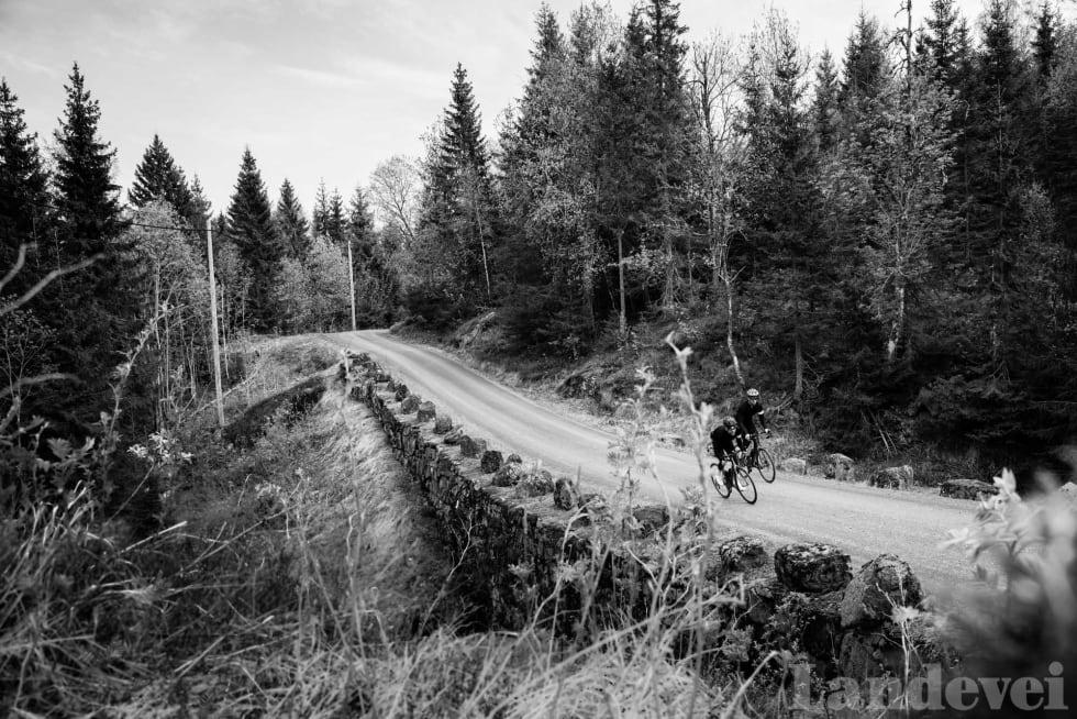 KONGELIG: Grusveien heter originalt Gamle Bergenske Kongevei, og ble anlagt som hovedfartsåre mellom Oslo og Bergen.