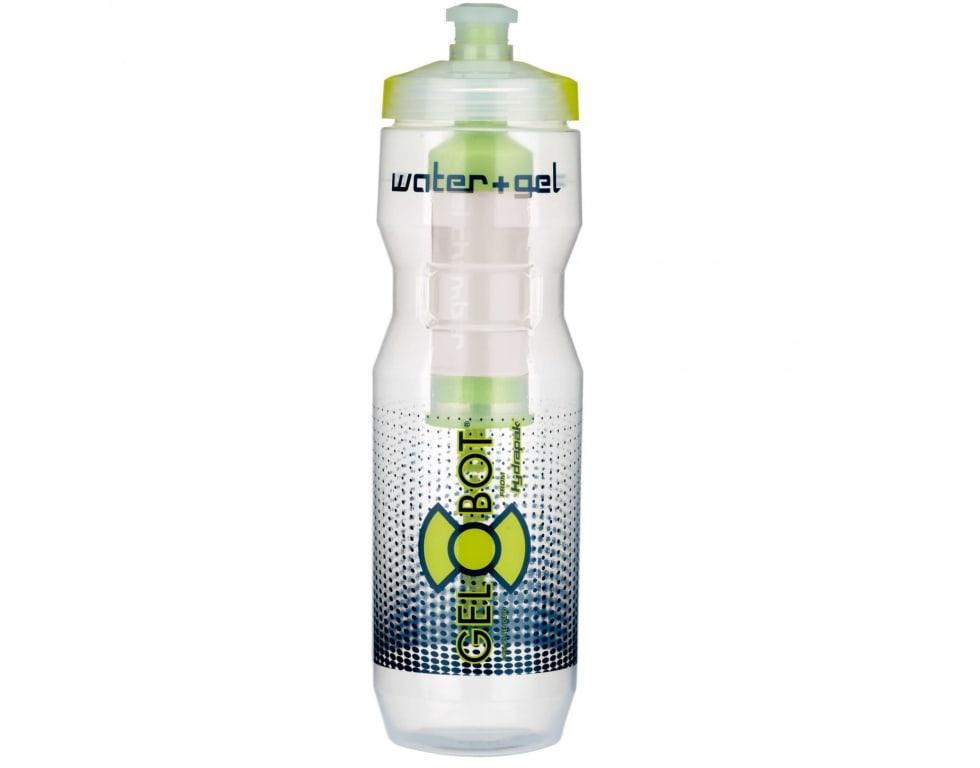 TØRSTESLUKKER: Eller kanskje litt gel, eller kanskje begge deler? Du vet ikke riktig før du klemmer på den enorme flasken.