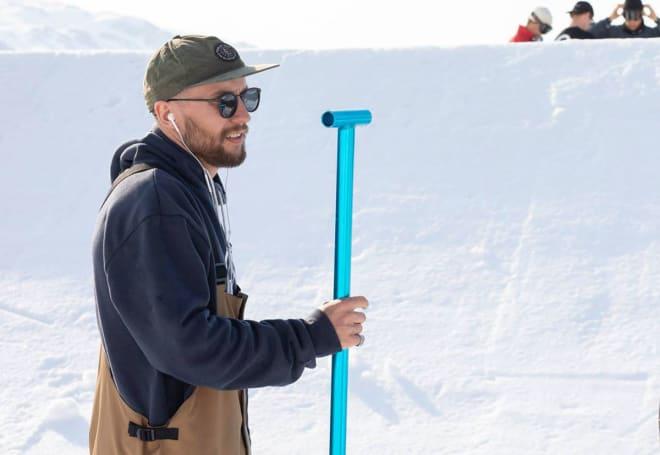 PARKSJEF: Emil Fossheim. Foto: Snowboardforbundet