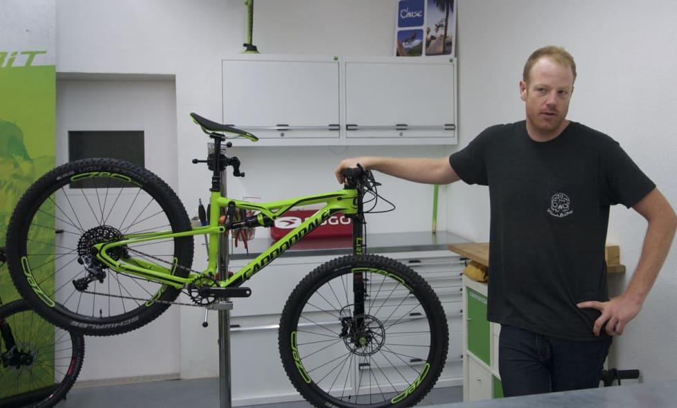 RUTINERT: Peter Valance jobbet tidligere for Rocky Mountain, produktsjefen for terrengsykler hos Cannondale har vært en del av Kanadisk terrengsykling siden begynnelsen. De siste to årene har den høyreiste mannen fra BC frontet Cannondale.
