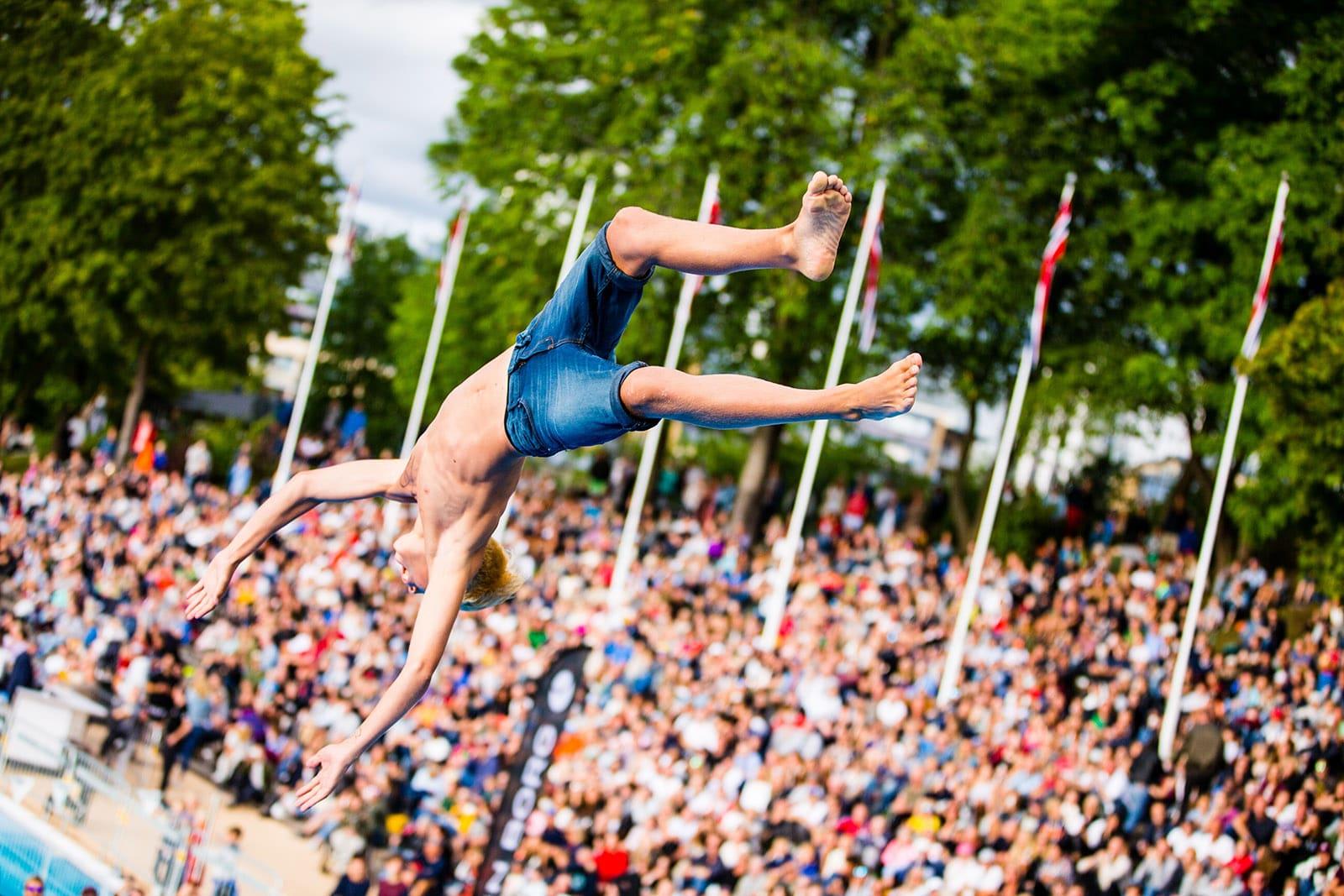 VM i døds arrangeres førstkommende lørdag i Frognerparken, stedet hvor sporten ble oppfunnet. Foto: Dag Oliver / relaxedsports.com