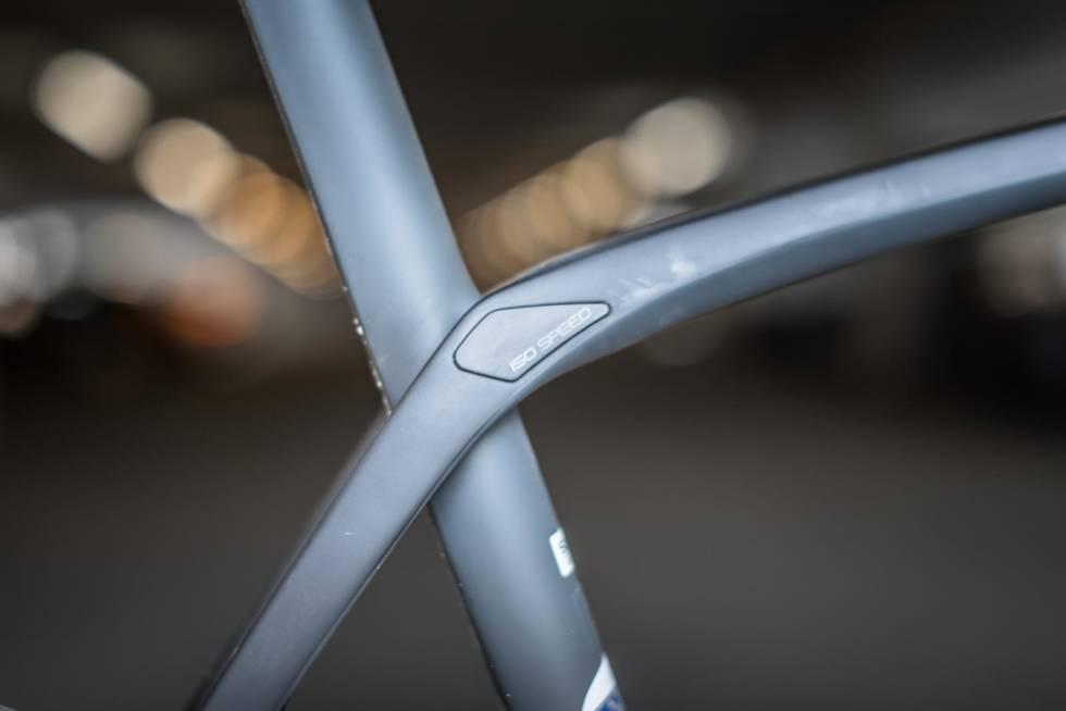 FRIKOBLING: IsoSpeed-løsningen gjør at seterøret kan flekse mer enn på andre sykler.