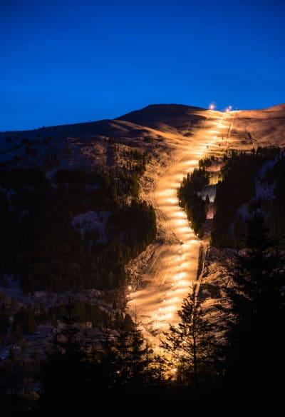 OPPLYST: Heggmyrane gir enkel tilgang til frikjøring i Norgestoppen. Foto: Eric James Ryan