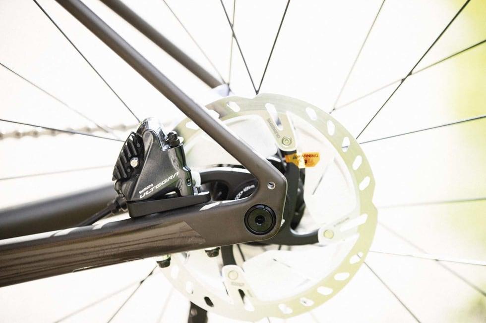 ESTETIKER: Specializeds Diverge karbonramme har flotte linjer og en lekker bronsefarge.